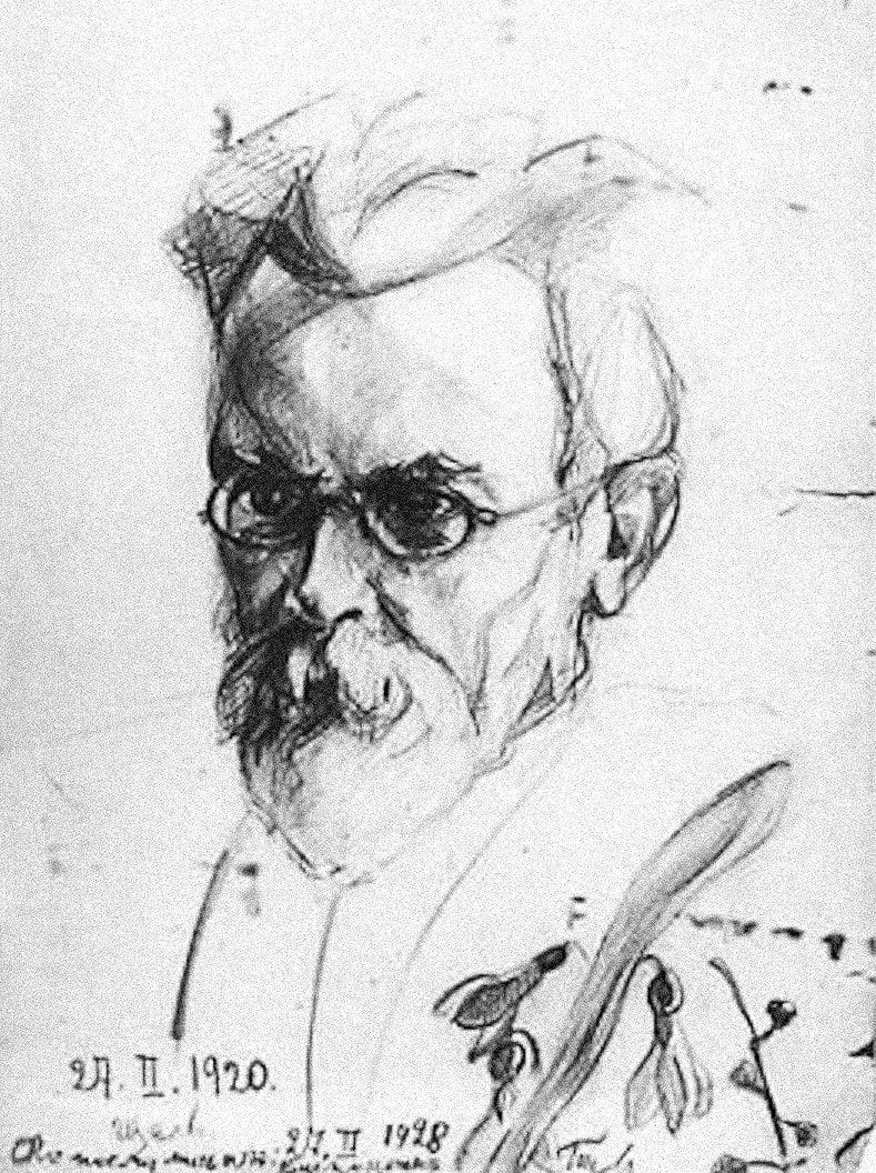 Рисунок дочери Нины Вернадской
