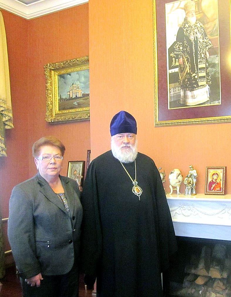 Владыка Мануил поддержал руководителя музея «Кижи»