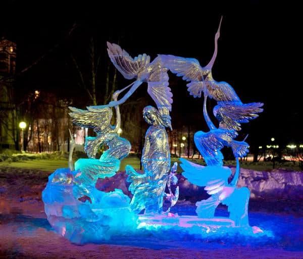 Международный конкурс снежных и ледовых скульптур приглашает