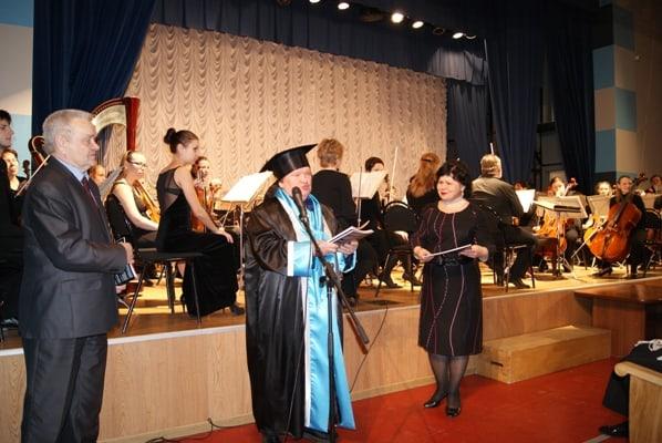Геннадий Вавилов стал почетным доктором ПетрГУ