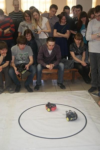 Битва роботов в ПетрГУ