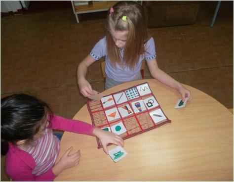 Дети структурируют копилку