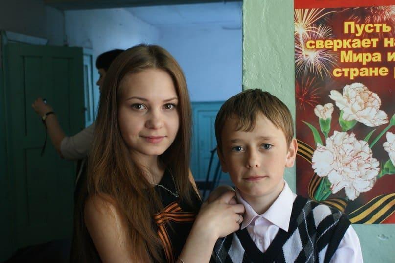 Фото Влада Огнева, ученика Рабочеостровской средней школы