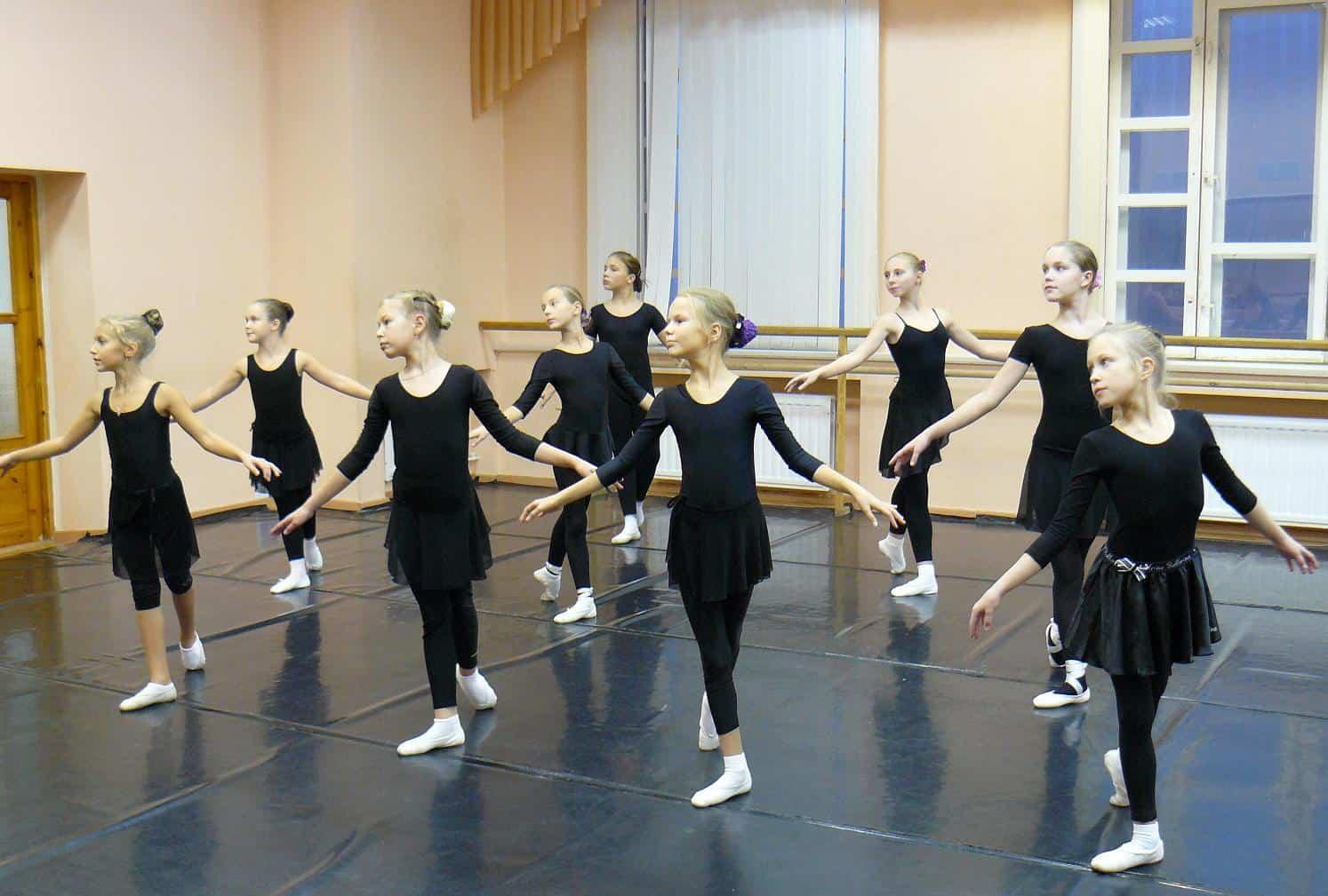 Набор в детскую балетную студию Музтеатра