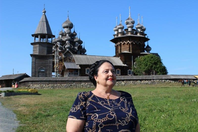 На какие средства принимали в Кижах великую княгиню Марию Романову?