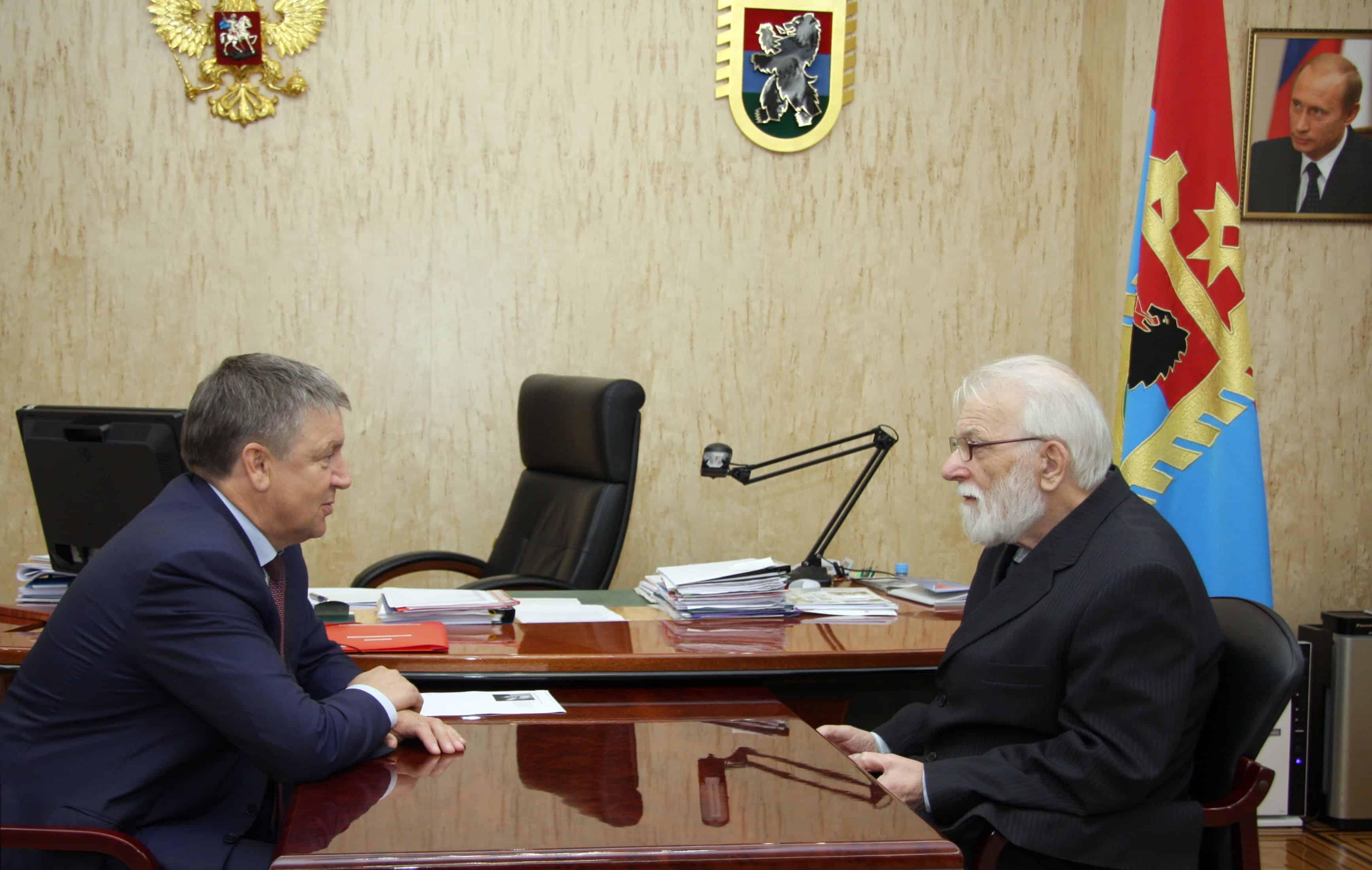 Губернатор пригласил Вячеслава Орфинского к диалогу