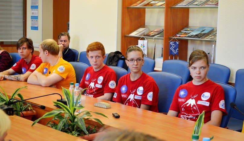 Студенты покорили Камчатку
