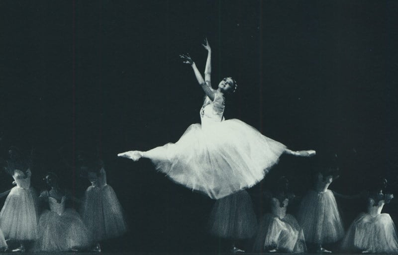Жанна Аюпова в балете «Шопениана». Фото А. Орлова, vaganovaacademy.ru