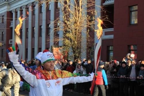 Быстрее олимпийского огня