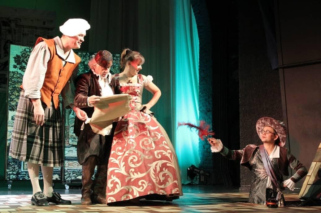 Фото Национального театра РК