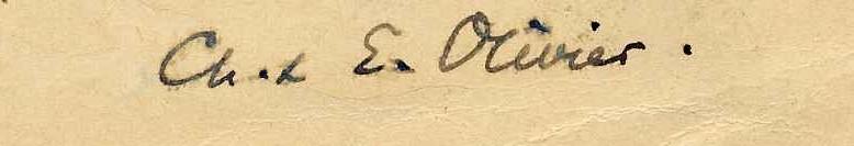 Общая подпись на двоих– Шарлотта и Эжен Оливье