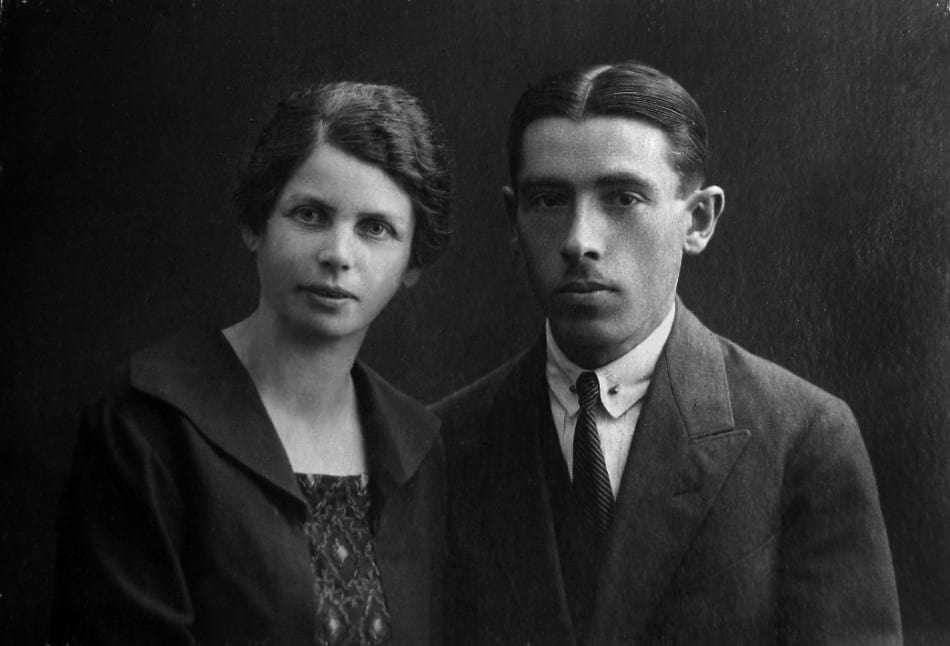 Бабушка и дедушка. 20-е годы ХХ века