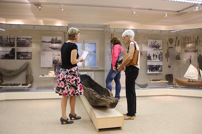 Археологическая песочница в музее без барьеров