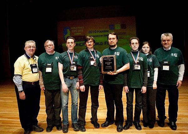 В ПетрГУ прошли сборы для школьников по программированию