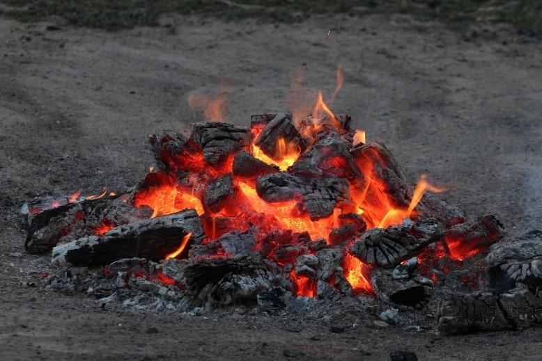 Танец на углях