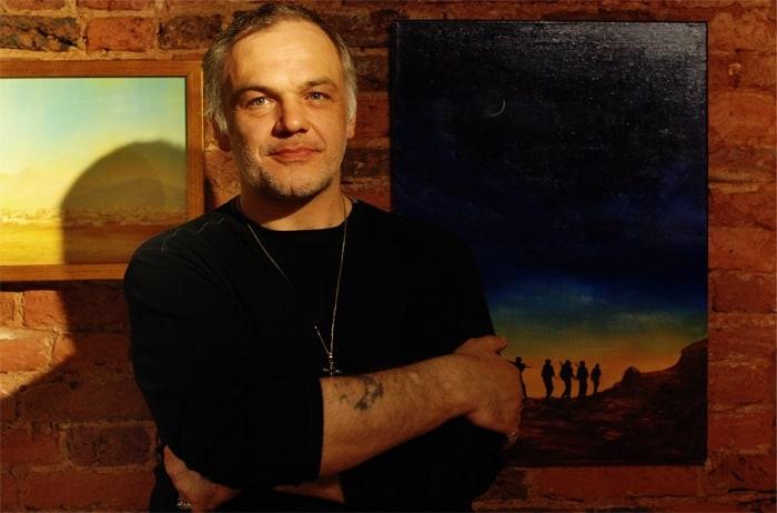 Встреча с художником-космистом Дмитрием Дагасом