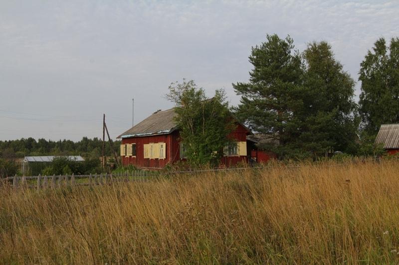 Так выглядит сейчас дом в деревне Каркку, в который накануне войны въехала большая семья моего прадеда Ивана Геракова