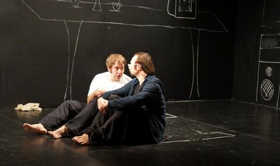 Лео - Алексей Белов (слева) и Макс (Андрей Харин)