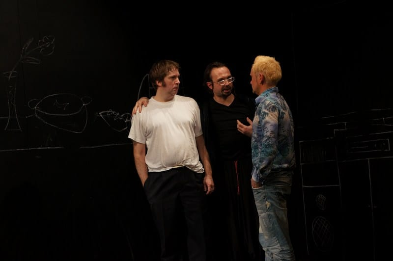 Лео (Алексей Белов), Макс (Андрей Харин) и Джонни (Вячеслав Поляков)