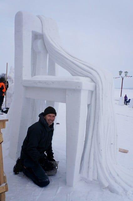 «Натюрморт» шведских скульпторов Эдвина Бека и Ларса Фагера