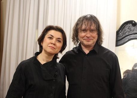 Александр Князев и Катя Сканави