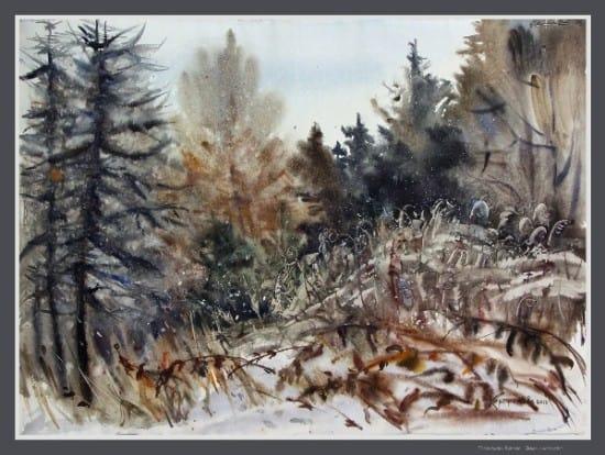 Зима наступает. 2012
