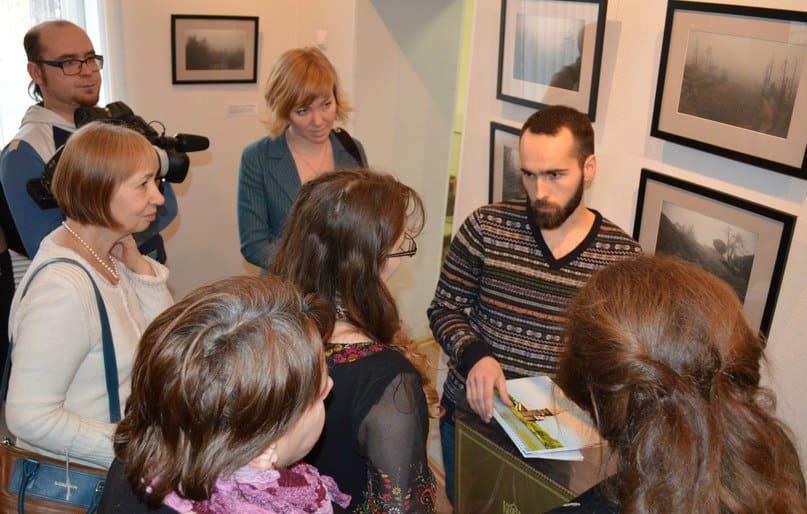Юрий Мацеевский рассказывает о выставке