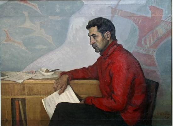 Фолке  Ниеминен  (1931 – 2010). Портрет композитора Патлаенко