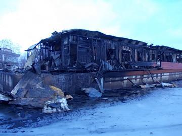 После пожара. Фото с сайта ГУ МЧС РФ по РК
