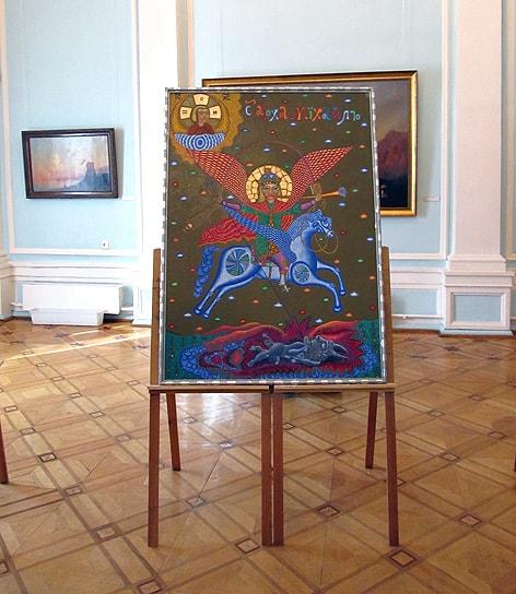 Михаил Архангел. Работа В. Фомина, которую М. Скрипкин преподнес в дар музею