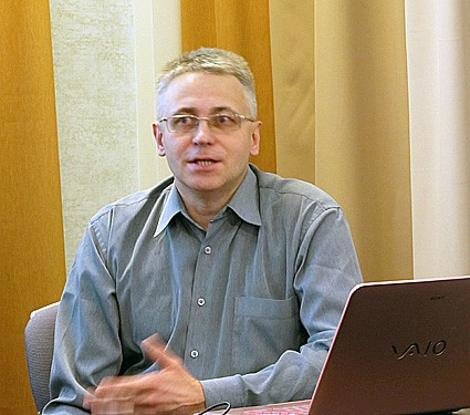 Петрозаводский дизайнер Сергей Трешкин, победитель конкурса «Виртуальные маркеры в Петрозаводске»
