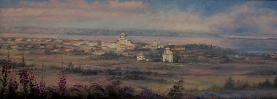 Т.Красовская. Старый город. Вид на Онежскую губу