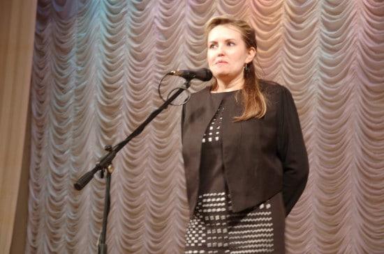 Депутат Петросовета  Ольга Залецкая