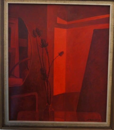В. Иваненко. Красный натюрморт