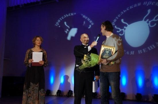 """Егор Кукушкин получил премию за оформление спектакля """"Снежное чудо"""""""