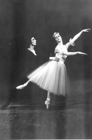 Жизель - Наталья Гальцина, Альберт - Олег Щукарев. 1977 год