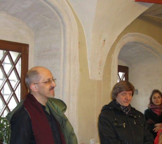 Зал в палатах Аверкия Кириллова, в котором проводились заседания Московского Археологического общества