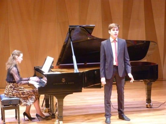 Иван Черемный (вокал), Елизавета Киреева (фортепиано)