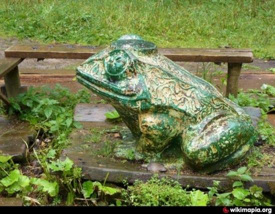 кульптура «Царевна-лягушка»