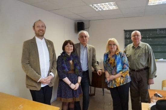 Слева - направо: Ярослав Судзиловский, Марина Сырбу, Рауф Фархадов, Анна Зондерегер, Александр Белобородов