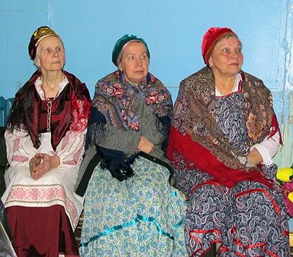 Гость чтений – фольклорный ансамбль «Куделюшка»