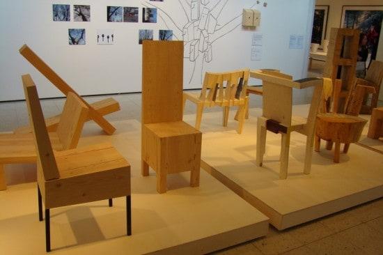 Деревня Фискарс. Выставка Wood works