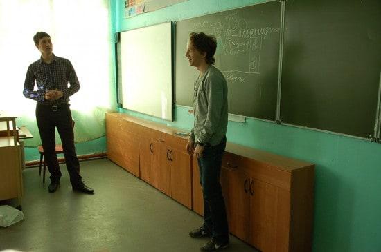 Мастер-класс Егора Андреева из школы №36