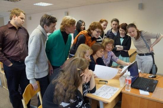 На лекции Ярослава Судзиловского - преподаватели и студенты ПГК им. А.К. Глазунова