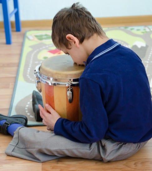 Для детей с аутичным спектром очень важна дружественная обстановка