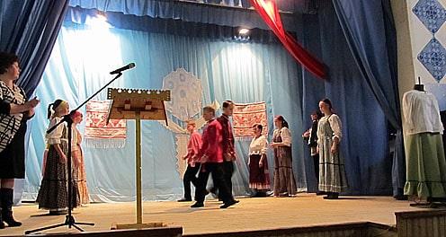 Старинная кадриль в исполнении толвуйских школьников