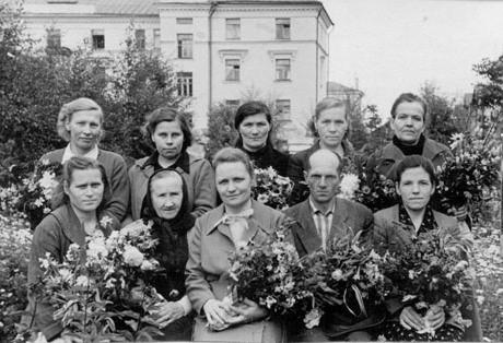 Галина Андерсон с учителями школы № 10