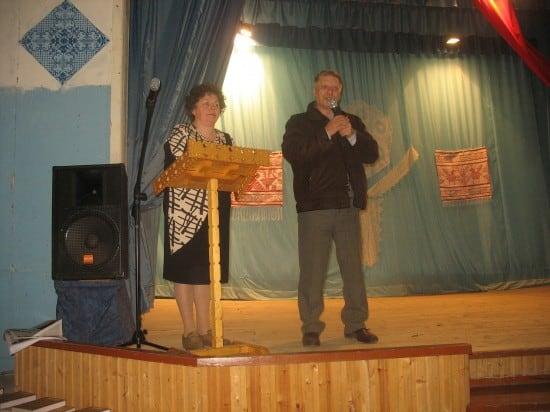 Валентина Сукотова и , этнограф Константин  Логинов