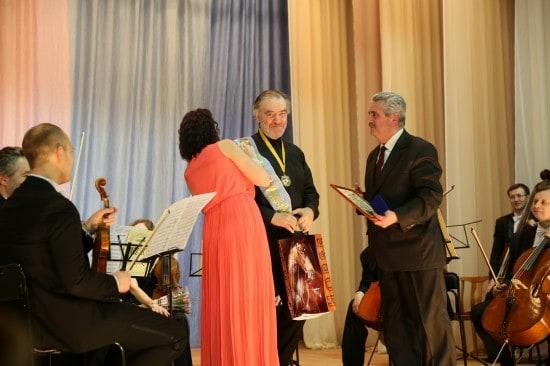 Валерий Гергиев стал Почетным гражданином Беломорска