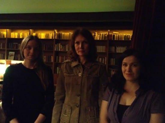 Юлия Пономарева (слева), Ольга Журина и Татьяна Талицкая